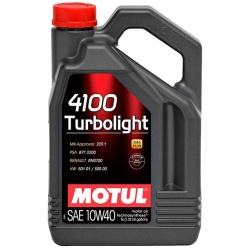 Масло для генераторов MOTUL 4100 Turbolight 10W40 4L