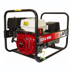 Бензиновый генератор AGT 8203 HSBE