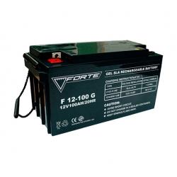 Аккумулятор глубокого разряда для ИБП FORTE F12-100G