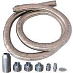Универсальный рукав газоотвода для электрогенераторов