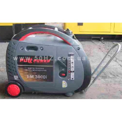 Инверторный бензогенератор FULL POWER EM 3000i