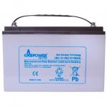 Аккумулятор глубокого разряда для ИБП GasPower Electro LBG-12-100A/H