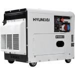 Дизельный генератор HYUNDAI DHY8500SE-3