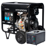 Дизельный генератор HYUNDAI DHY 6000LE ATS