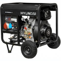 Дизельный генератор Hyundai DHY 6000LE3