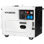 Дизельный генератор HYUNDAI DHY6000SE