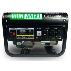 Бензиновый генератор IRON ANGEL EG 3000 M