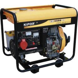 Дизельный генератор Kipor KDE6500E3