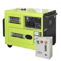 Дизельный генератор Konner&Sohnen KSB 6000DES ATS с автозапуском