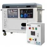 Дизельный генератор Konner&Sohnen KS 9200HDE ATSR с Автоматикой (АВР)
