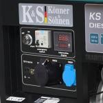 Дизельный генератор Konner&Sohnen KS 11000DE ATS