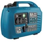 Инверторный генератор Konner&Sohnen KS 3300iEG S-PROFI (ГАЗ / БЕНЗИН)