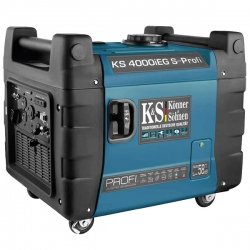 Инверторный генератор Konner&Sohnen KS 4000iEG S-PROFI (ГАЗ / БЕНЗИН)