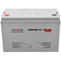 Аккумулятор глубокого разряда LogicPower AGM LPM-MG 12 - 100 AH