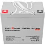 Аккумулятор глубокого разряда LogicPower AGM LPM-MG 12 - 55 AH