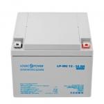 Аккумулятор глубокого разряда LogicPower AGM LPM-MG 12 - 26 AH