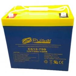 Аккумулятор глубокого разряда для ИБП PULSAR CS12-55D