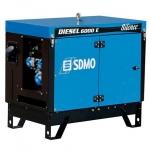Электростанция SDMO DIESEL 6000 E SILENCE