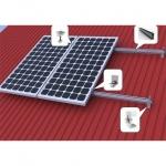 Комплект креплений солнечных панелей на скатную кровлю (2 фотомодуля)