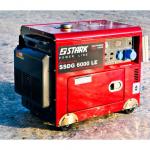 Дизельный генератор STARK SSDG6000LE + ATS