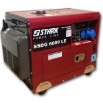Дизельный генератор STARK SSDG 6000 LE + ATS