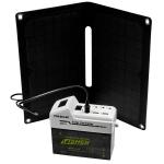 Портативная солнечная станция освещения и зарядки SUNERGY 7 (OP142+OS-C0312+АКБ)
