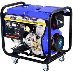Дизельный генератор WERK WPGD6500E